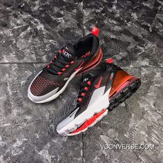 reputable site eb949 4e4d0 NIKE Air Max 270 New Colorways Volcanic Red Retro Wind Half-palm As Zoom  AH8050-015 New Style