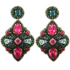 Exclusive Madison Statement Earrings by Suzanna Dai   Charm & Chain