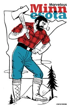 Paul Bunyan Day to celebrate an all-American folklore legend who ...