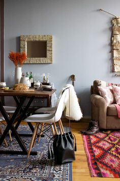 A Colorful Home in An Old Chicago Calculator Factory | Design*Sponge