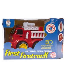 Love this Remote Control Fire Truck by Small World Toys on #zulily! #zulilyfinds