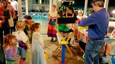Hoover Country Club Halloween bash balloon animals and face painting. 2015