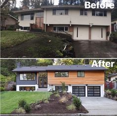 Before and after, remodel, renovation