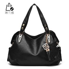 $33.76 (Buy here: https://alitems.com/g/1e8d114494ebda23ff8b16525dc3e8/?i=5&ulp=https%3A%2F%2Fwww.aliexpress.com%2Fitem%2FHigh-Quality-PU-Leather-Women-handbags-fashion-comfortable-solid-color-tassel-totes-Female-Classical-zipper-shoulder%2F32666373149.html ) 2016 female new fashion High Products Luxury Handbag Tote ladies PU Leather Hobo Shoulder Bag women Messenger Bags 6 colors Z-16 for just $33.76