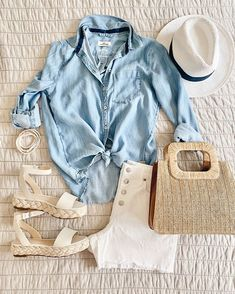 Casual Summer Outfits, Stylish Outfits, Spring Outfits, Cute Outfits, Fashion Outfits, 90s Fashion, Summer Clothes, Fashion Tips, Fashion Trends