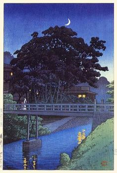 Takino River by Kawase Hasui (1883-1957)