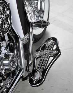 Epic Firetruck's Motor'sicle Details ~ BikerPros Photography ~