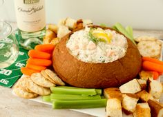 Seattle Seafood and Washington Wine Dip
