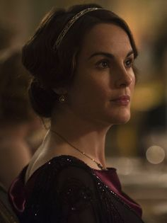 Michelle Dockery as Lady Mary Crawley in Downton Abbey: Christmas Special (2012).