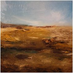 cora murphy 'On A Clear Day' Oil & Ink on Canvas X This painting nearly killed me! We spent a LOT of time together but I think the mood was right in the end! Irish Landscape, Abstract Landscape, Landscape Paintings, On A Clear Day, Contemporary Paintings, Oil, Canvas, Artworks, Artists