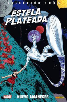 100% Marvel. Estela Plateada siempre ha sido un personaje muy serio y trascendente. Hasta que llego esta colección
