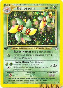 Pokemon Neo Genesis Card 3 - Bellossom Holofoil $9.00-$12.00