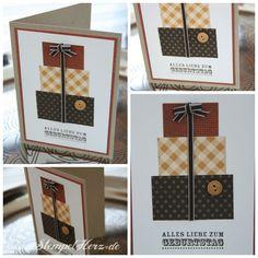Stampin up - Geburtstagskarte - Alles Gute zum Geburtstag - Happiest Birthday Wishes -  Martin Collage