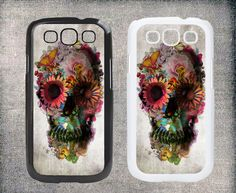 Sugar Skull Samsung Galaxy S3 case,Samsung Galaxy S4 case, Plastic hard case cover,Samsung Galaxy I9300/ I9500 case