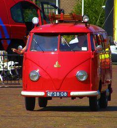 1957 VW Bus Brandweer