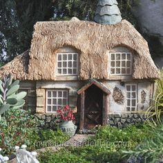 Mustardseed Cottage | Where to Buy Miniature and Fairy Garden Houses – Part I | Lush Little Landscapes