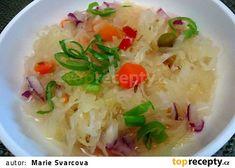 Rychlý, pikantní zelný salát recept - TopRecepty.cz Grains, Rice, Cabbage Salad, Food, Coleslaw, Essen, Meals, Seeds, Yemek