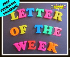 Do you have preschoolers in your home daycare this year? Are you wondering how to include some letter learning into your busy day? Would you like a program that is easy to implement and uses items…