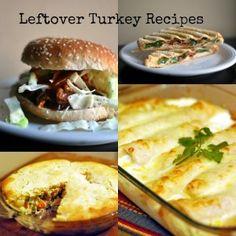 Leftover Turkey Recipes | Aunt Bee's Recipes