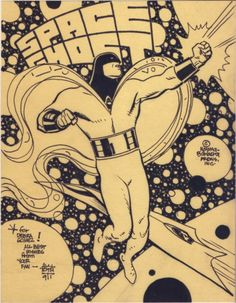 Alex Toth  - Space Ghost Comic Art