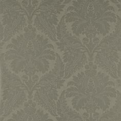 Zoffany - Luxury Fabric and Wallpaper Design | Products | British/UK Fabric and Wallpapers | Malmaison Damask (ZCON311997) | Constantina Damask Wallpapers