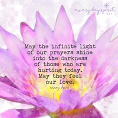 May we join together in love and compassionate action for all those who suffer. xo #prayer #lift up #lotus blossom #houston xo www.everydayspirit.net xo