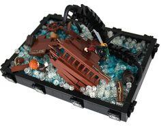 Lego shipwreck.