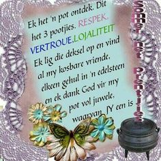Evening Greetings, Goeie More, Afrikaans, Good Morning, Words, Violets, Christianity, Quotes, Friendship