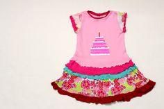 Layer Cake Dress - step by step Photo tutorial - Bildanleitung
