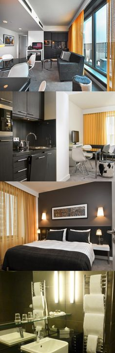 These studio, one bedroom and two bedroom serviced apartments in Berlin are located just a six minute walk from Hackescher Markt train station and less than 30 minute drive from Schonefeld Airport. Here are Berlin Hackescher Markt Aparthotel, Berlin Mitte, Berlin.