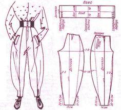 Моделирование брюк ~ maybe in a super lightweight fabric