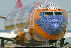Qantas Boeing 737-800 Yananyi Dreaming. Image via google airliners.net copyright owner