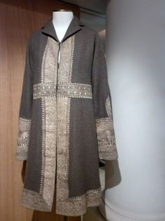 Dries Van Noten fall 1997  ethnic embroidery coat