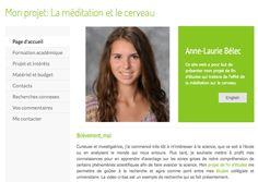 Anne-Laurie Belec - L'influence de la médiation sur le cerveau - Boston (MA) - USA