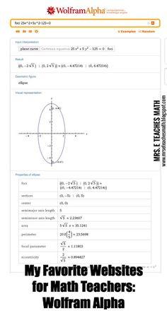 My Favorite Websites for Math Teachers  mrseteachesmath.blogspot.com
