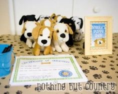 Puppy Birthday Party – Part 2 (Puppy Stations)