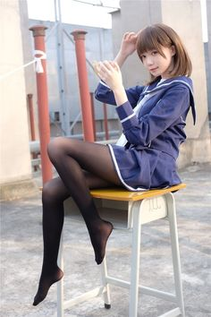 School Girl Japan, Japan Girl, Japanese School Uniform Girl, Asian Cute, Cute Asian Girls, Cute Girls, Beautiful Japanese Girl, Beautiful Asian Girls, Asia Girl