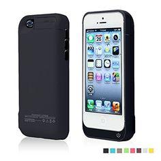 Funda Batería Extra 4200Mah para iPhone 5/5S/5C Cargador Batería External…
