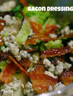 Bacon Dressing? yes please!