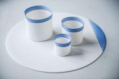 Porcelain tableware by Studio Pieter Stockmans.