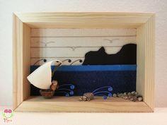 Pebble art  Decorazione per camerette dei di MariuCreazioni