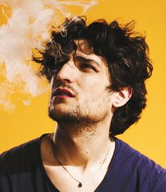 An Afternoon Spent Smoking With France's Sexiest Actor, Louis Garrel Louis Garrel, Isabelle Huppert, Marie Claire, Foto Pose, Les Miserables, Interesting Faces, Male Face, Cinema, Pretty People