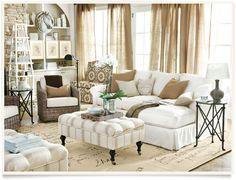 [get the look: julian living room]  I ballarddesigns.com