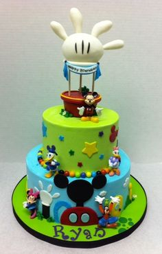 Icing Smiles Mickey Mouse Clubhouse #Disney #cake