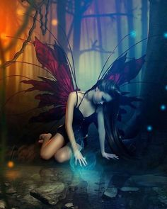 ≍ Nature's Fairy Nymphs ≍ magical elves, sprites, pixies and winged woodland faeries -
