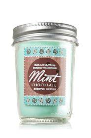 Mint Chocolate 6 oz. Mason Jar Candle - Slatkin & Co. - Bath & Body Works