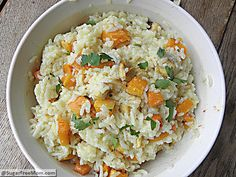 Roasted Butternut Squash & Apple #Risotto