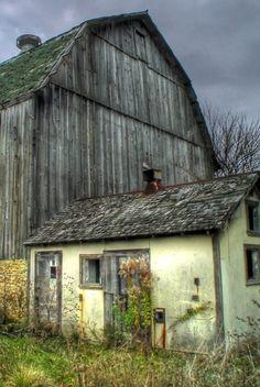 Grey Barn & Shed