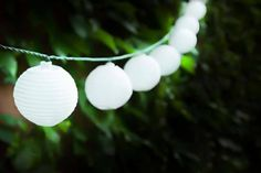 10 Solar Powered LED Chinese Lantern String Lights deal in Art Get ten solar powered LED Chinese lantern string lights.   Decorate your garden or patio.  Up to eight hours illumination each night during the summer months!   Lights are 4.3 metres long.  The lanterns are fully weatherproof, measuring 8cm in diameter. BUY NOW for just £6.99