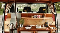 These 10 camper van kitchens are serious renovations that make cooking on the road as easy as cooking in your home kitchen.